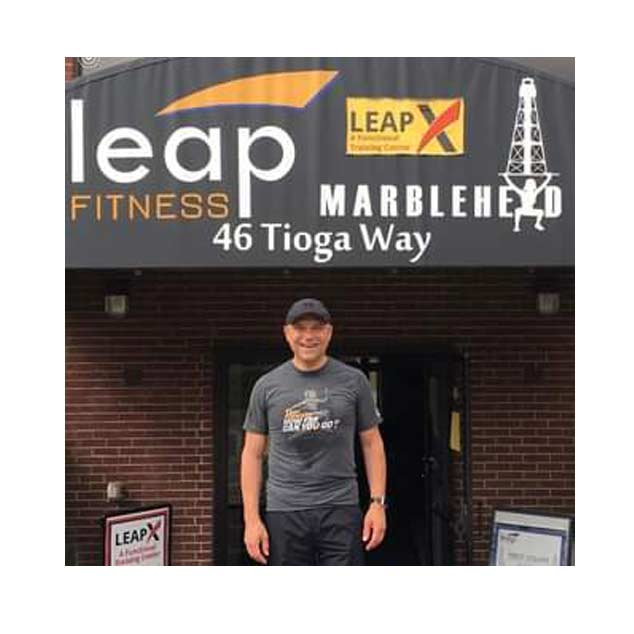 Herve Sedky of Leap Fitness in Marblehead MA