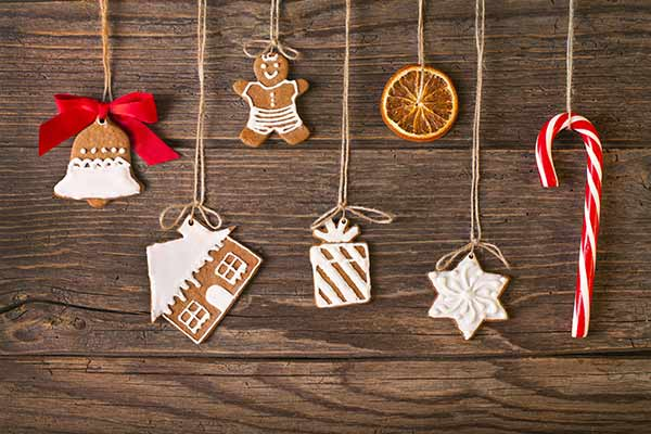beautiful holiday cookie ornaments